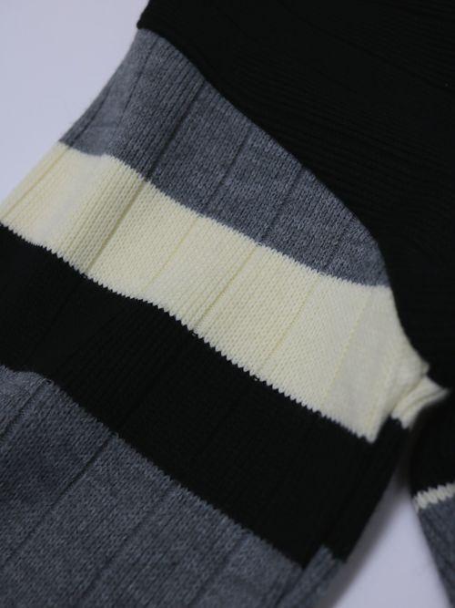 Vintage Knit zip Blouson