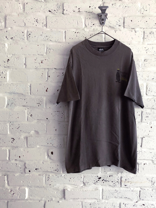 "OLD STUSSY ""SHADOW MAN"" 90's T-shirt"