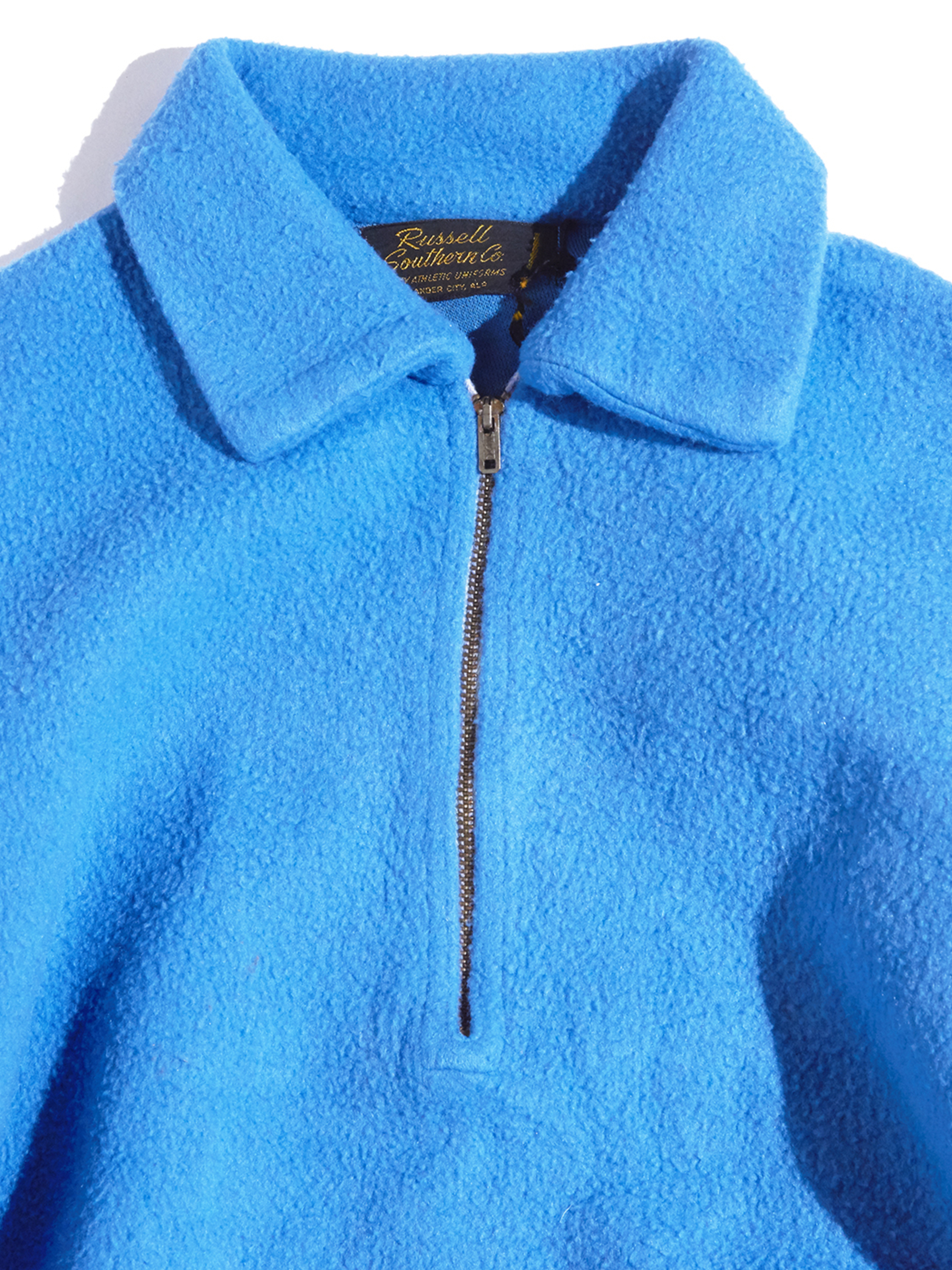 """1960s """"Russel Southern Co."""" acrylic pile pullover -SAX-"""