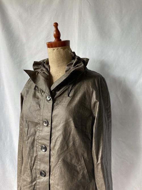 shirring collar short jacket 70s