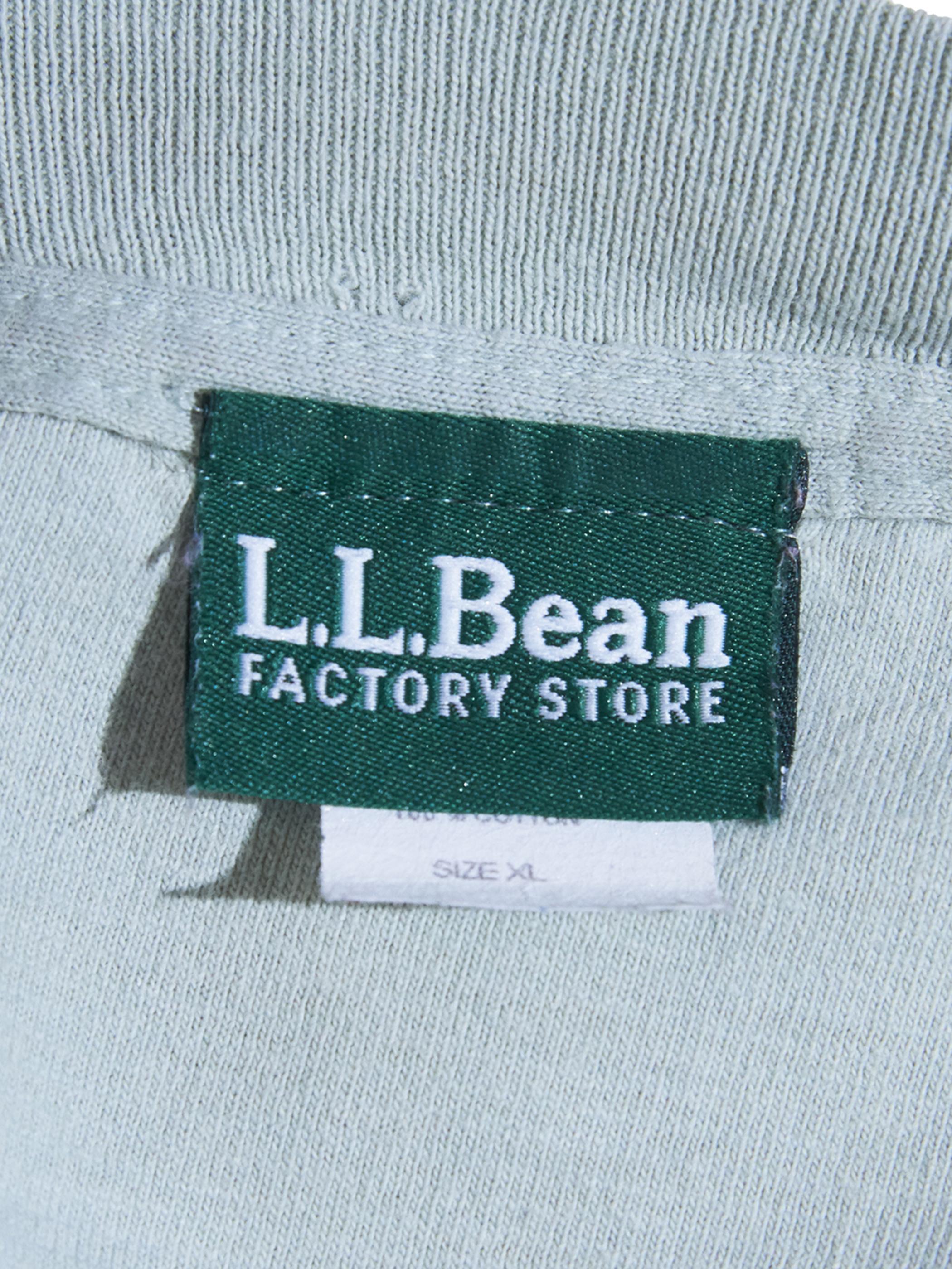 """1990s """"L.L.Bean"""" print tee -OLIVE-"""
