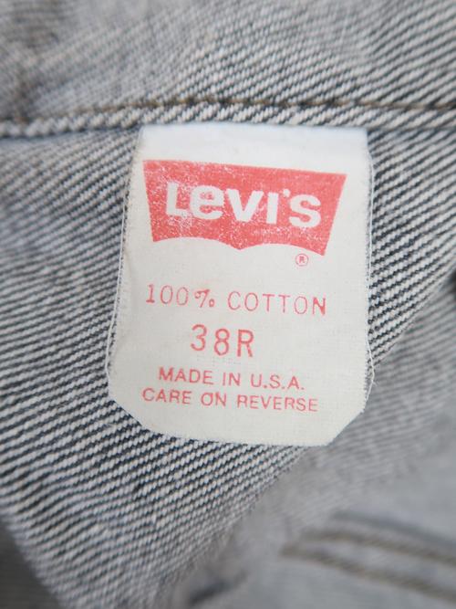 リーバイス デニムジャケット 70506 ブラック