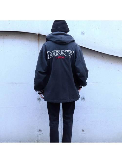 90's DKNY ジップアップジャケット [M]