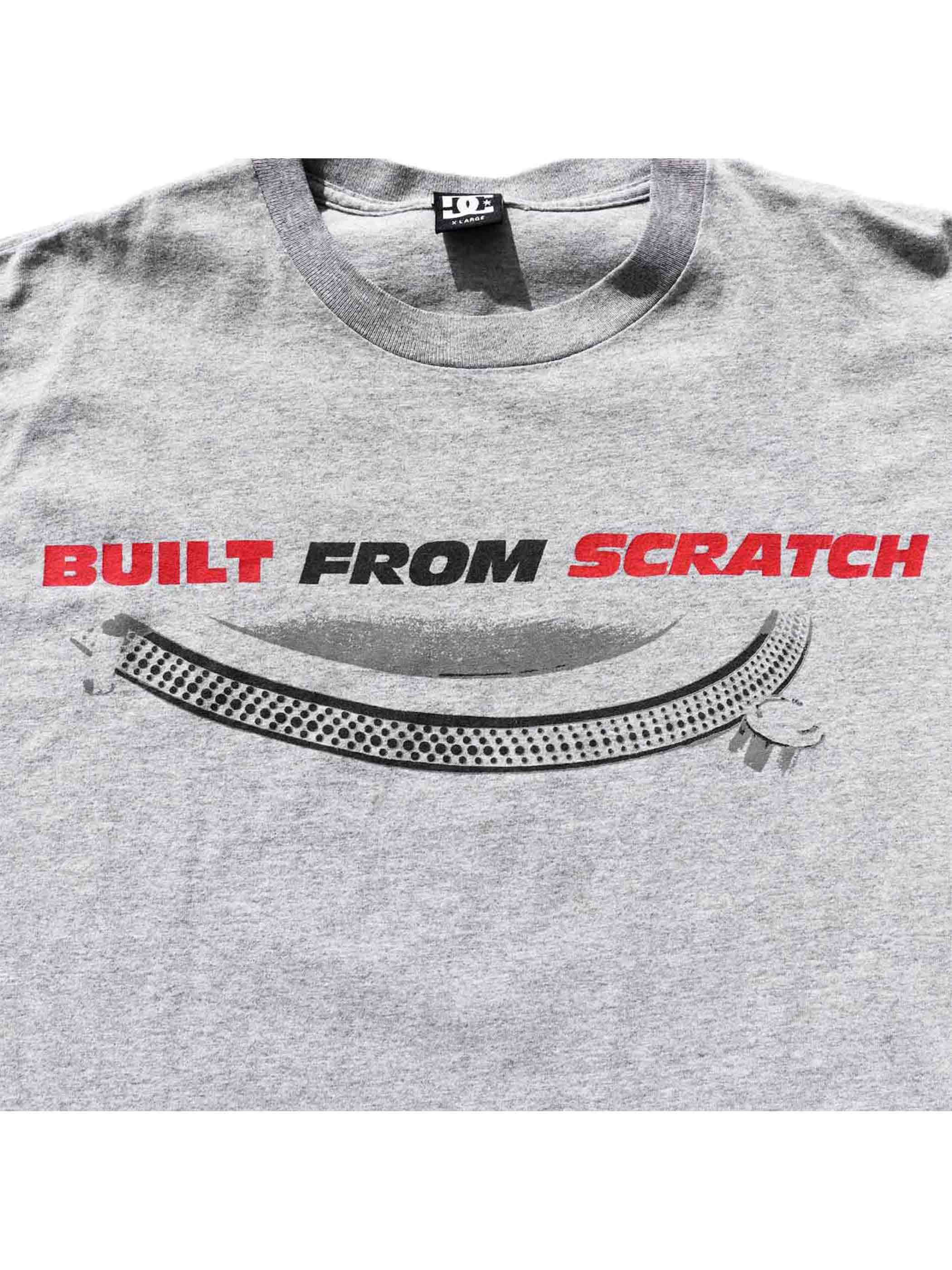"00's DC ""THE X-ECUTIONERS/BUILT FROM SCRATCH"" Tシャツ [XL]"