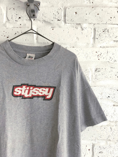 "OLD STUSSY ""RED LOGO"" 90's T-shirt"
