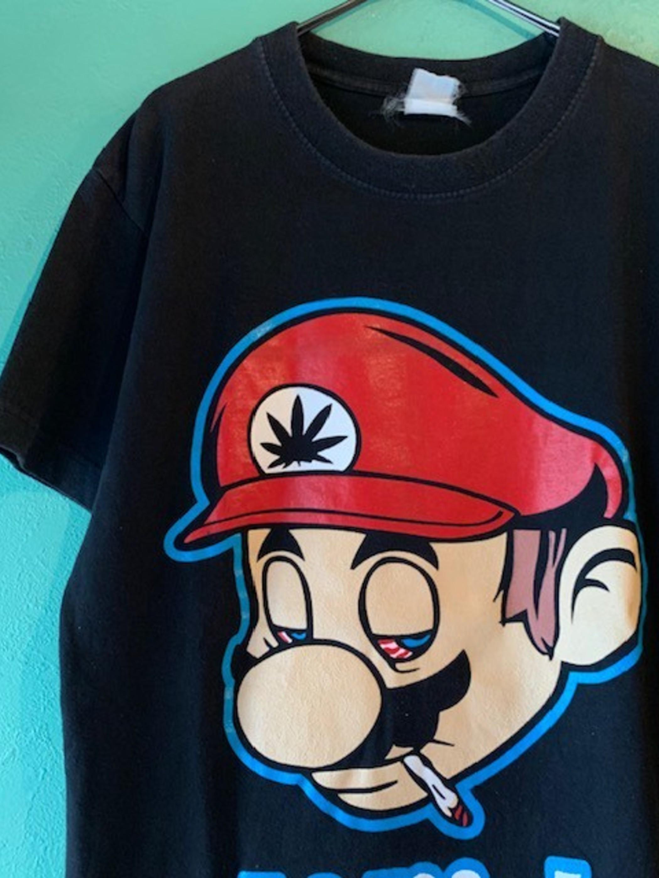 パロディープリントTシャツ