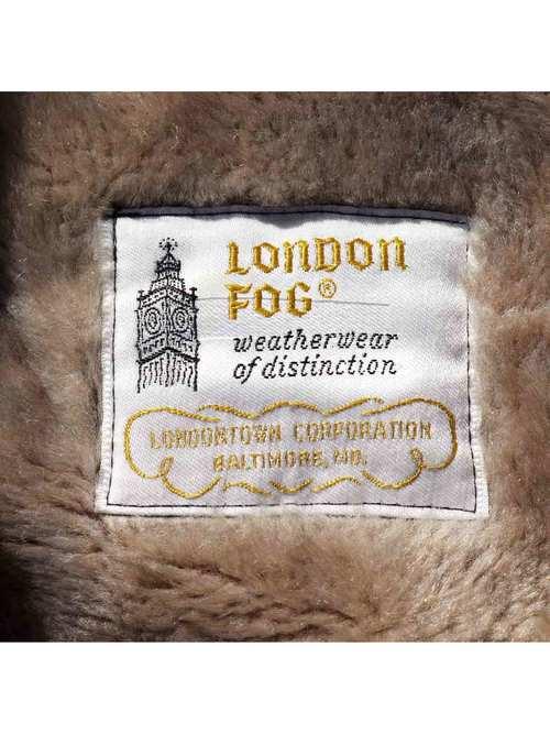 70's LONDON FOG ボアライナー フーデッドコート [44-L]