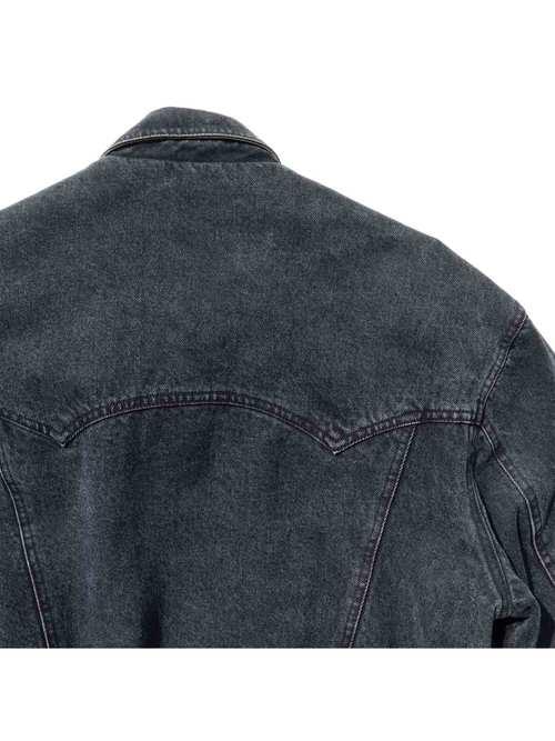 90's CALVIN KLEIN ウエスタンデニムジャケット [L]