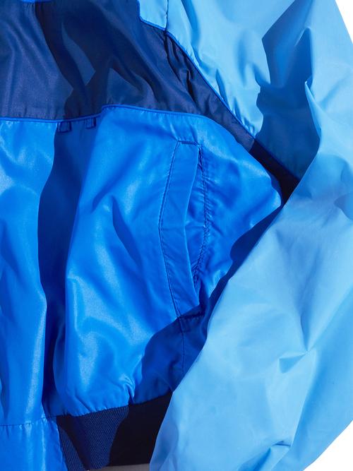 """1980s """"Wilmar"""" nylon zip blouson -BLUE-"""