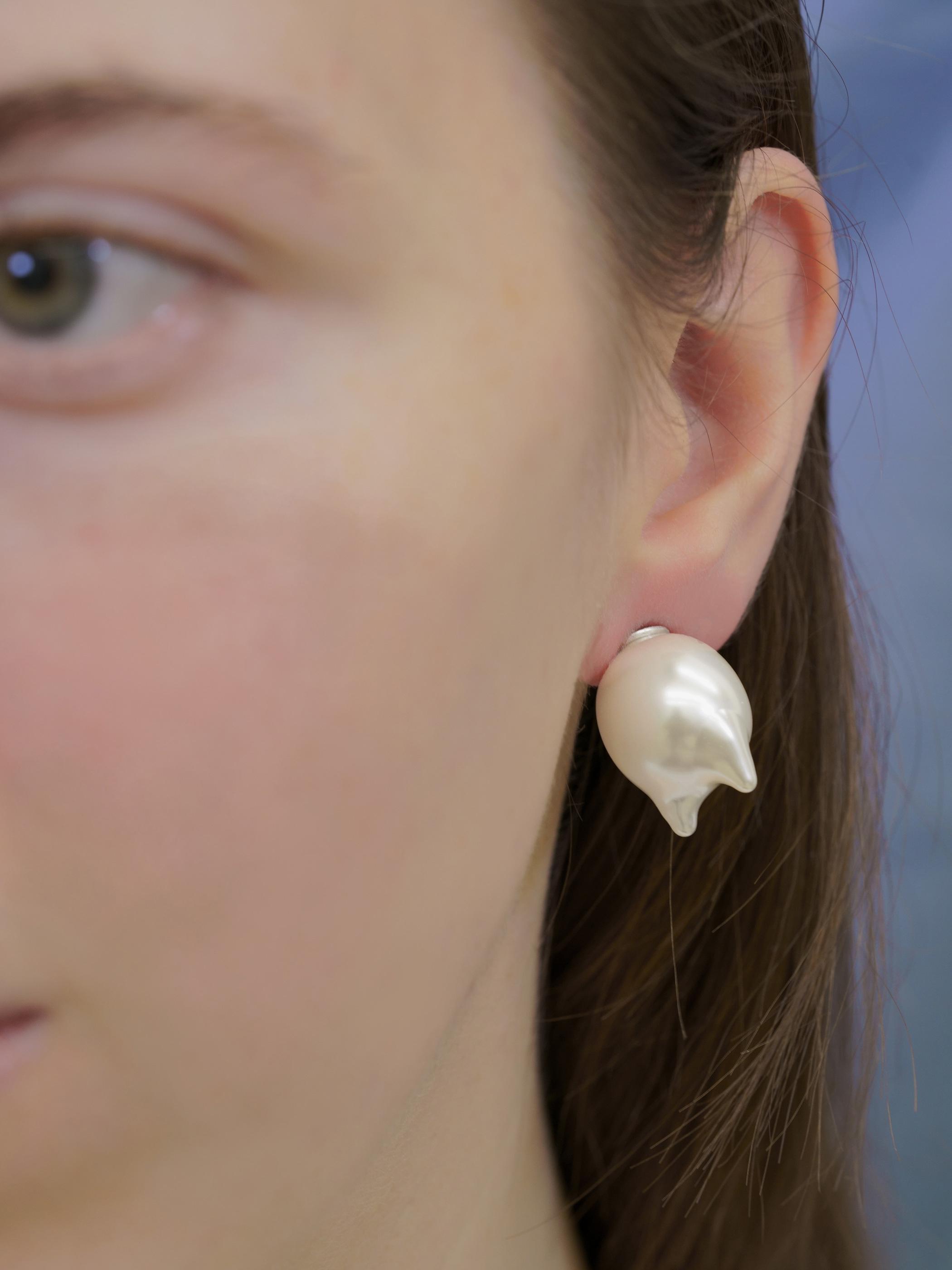 Tears of the Manmade Earrings no.3