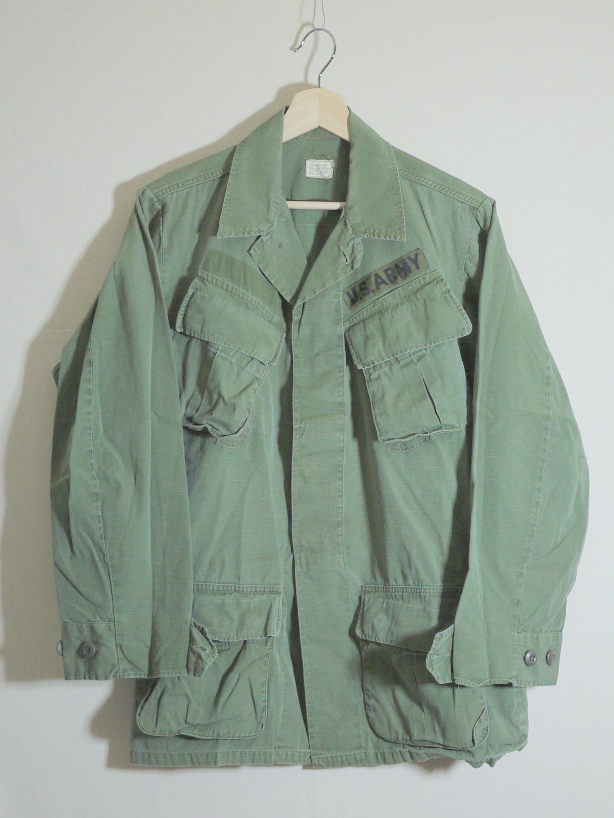 U.S.Military 1960's Fatigue Jacket SizeXS-R #3