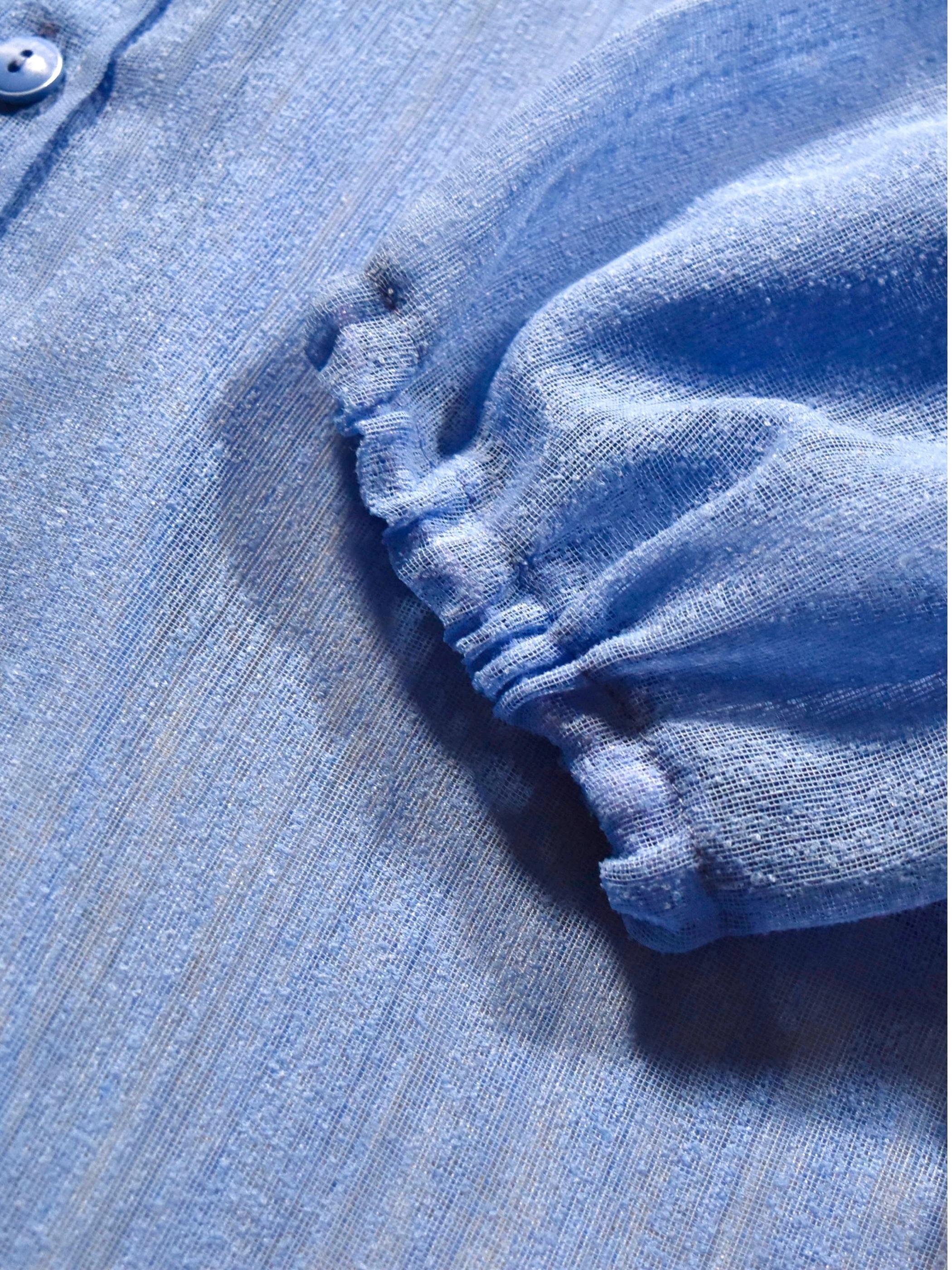 シースルー ロング シャツコート / see through long shirt coat