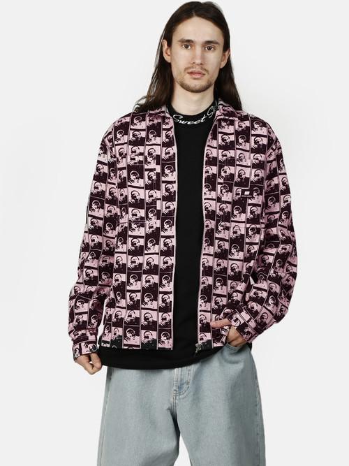 【NEW】SWEET SKTBS Zipped Overshirt
