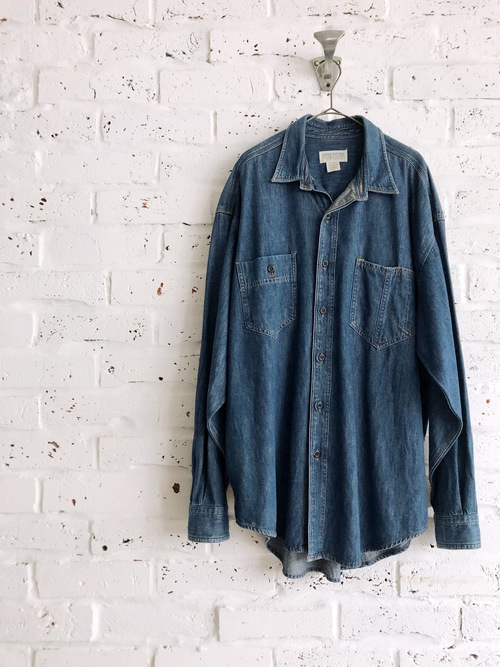 Vintage 80's Banana Republic Denim Shirt