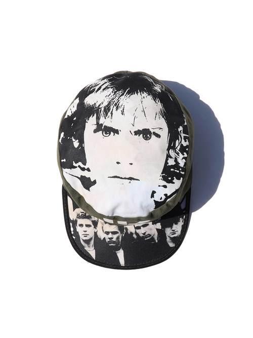 "80's U2 ""WAR"" Painter Cap [FREE]"