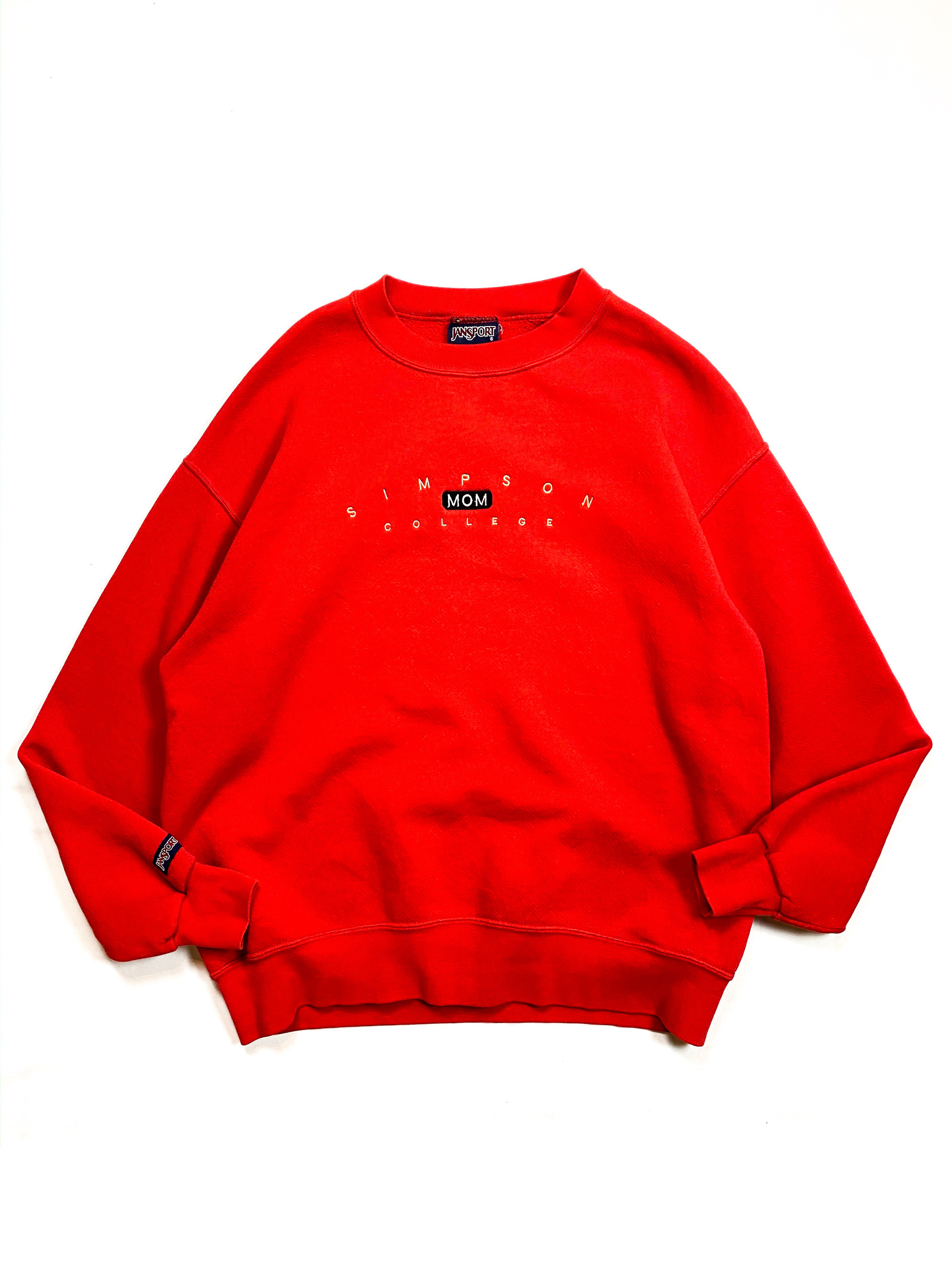 90's JANSPORT embroidery sweat