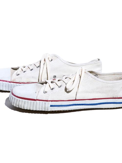 "1970s ""CHAMPION?"" canvas sneaker -WHITE-"
