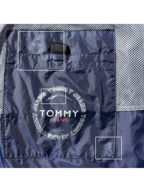 90's TOMMY JEANS ナイロンアノラック [L]