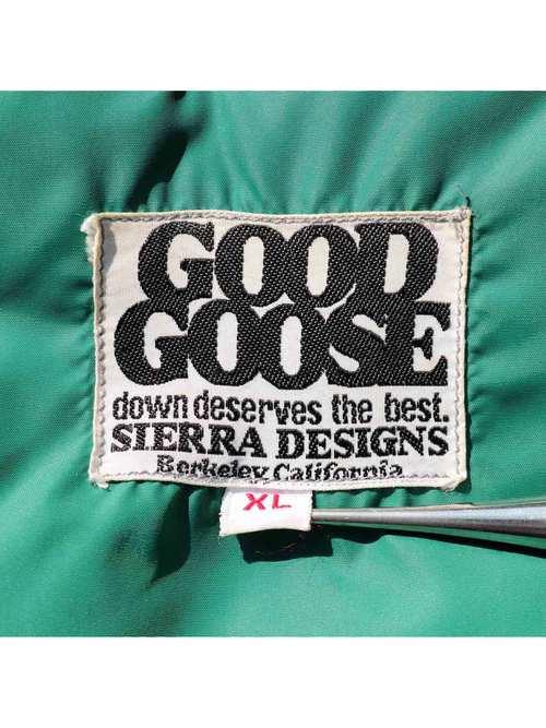 80's GOOD GOOSE SIERRA DESIGNS ダウンジャケット [XL]
