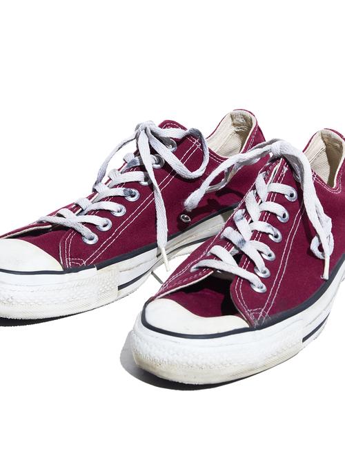 "1990s ""CONVERSE"" ALLSTAR canvas sneaker -MAROON-"