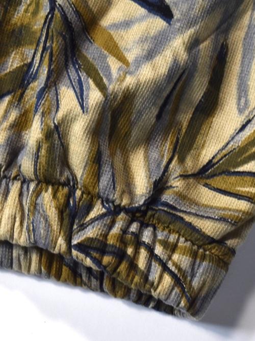 総柄 半袖 パイルジャケット / all pattern half sleeve pile jacket