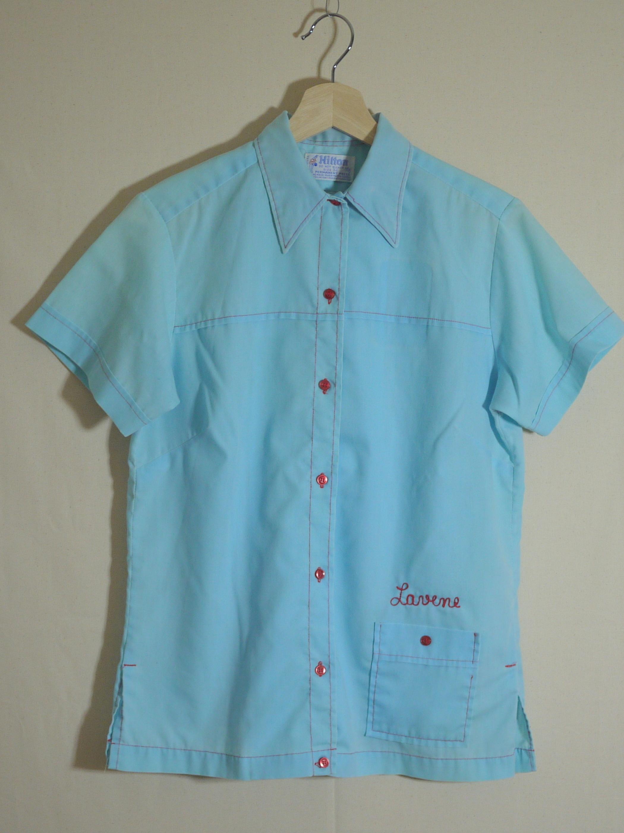 Hilton 1970's Bowling shirt Size34