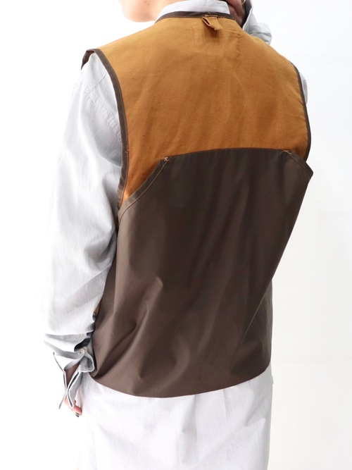 Cotton duck hunting vest