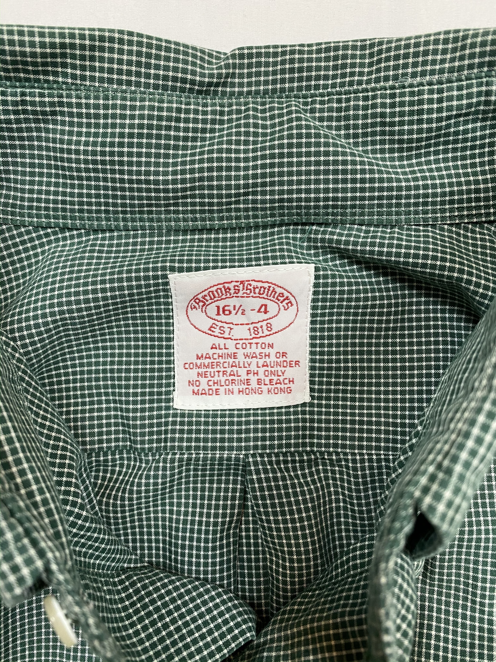 Brooks Brothers check shirt