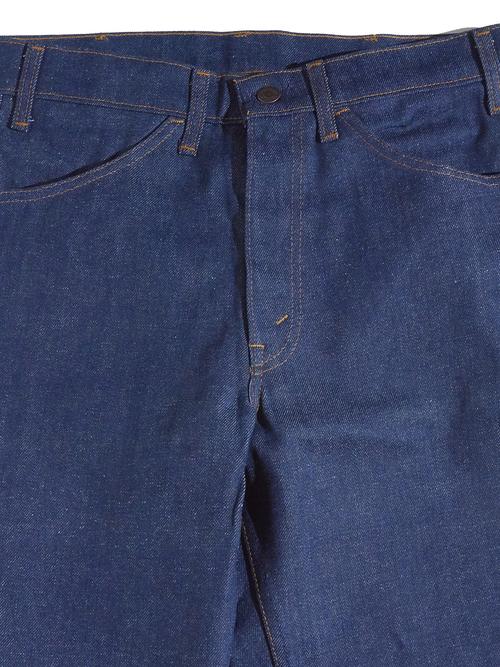 "NOS 1970s ""Levi's"" Lot.646 denim pants -INDIGO-"