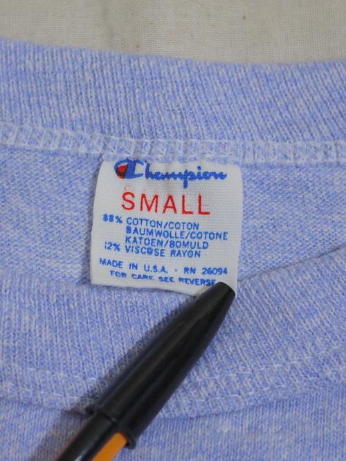 "Champion 1980's T-Shirts SizeS ""USAF SPORTS"""