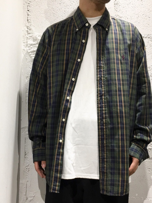 Ralph Lauren L/S B.D. cotton shirts