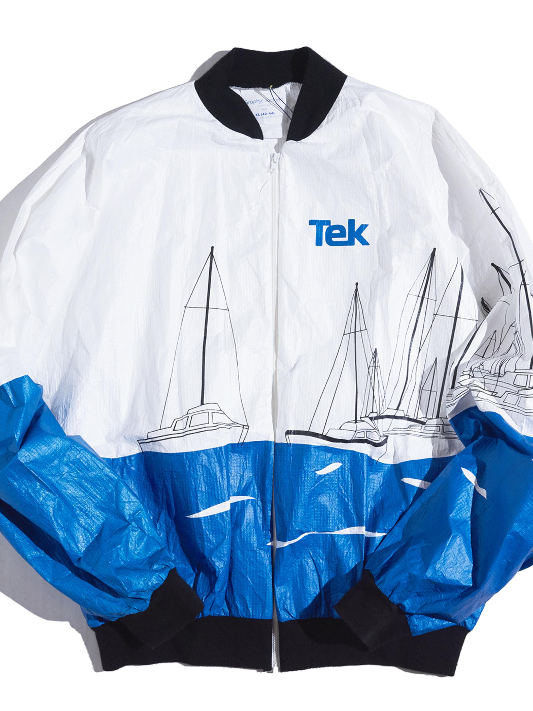 "1980s NOS ""DU PONT"" paper jacket -WHITE-"