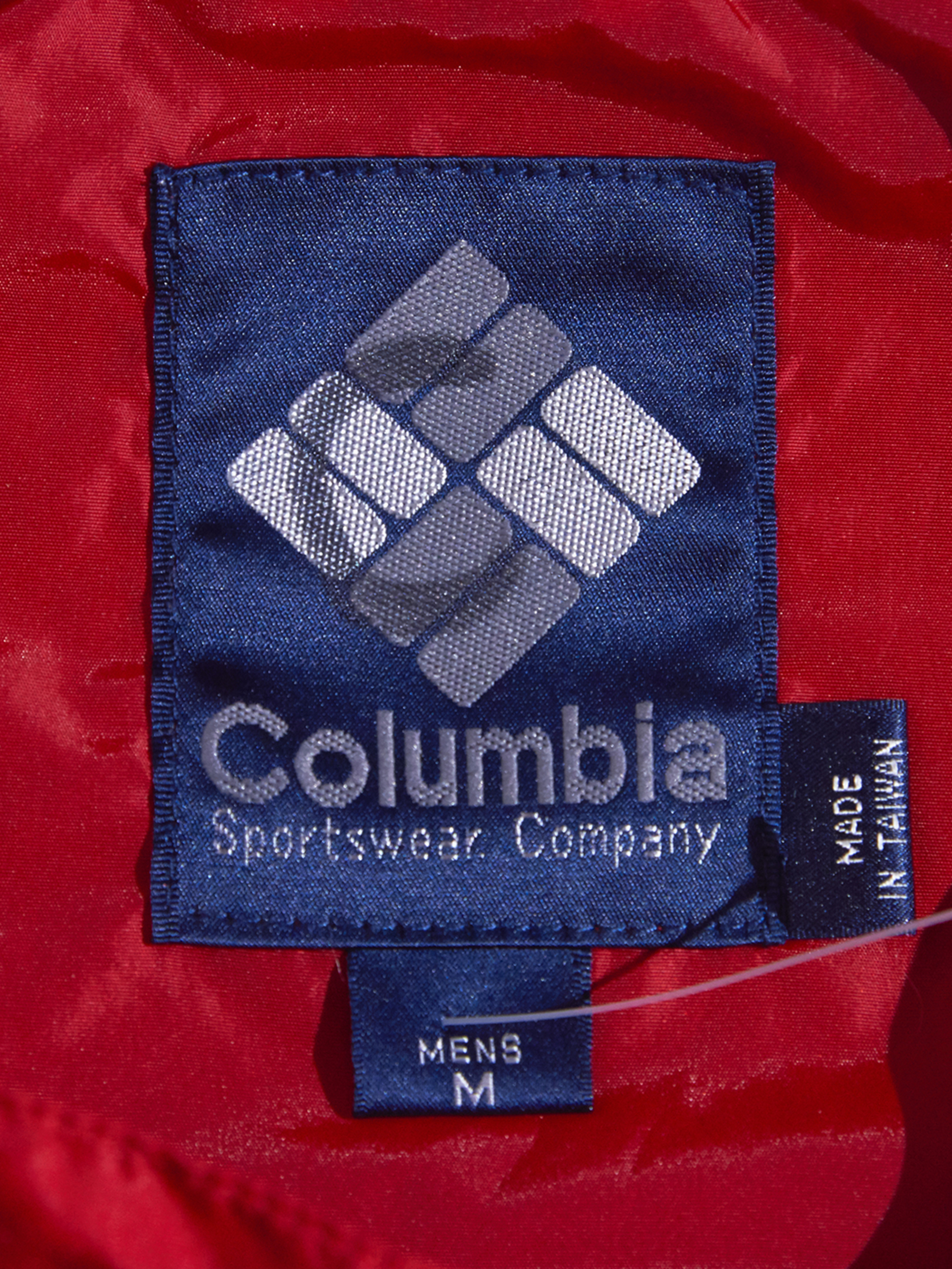 "1980s ""Columbia"" nylon anorak parka -GREY-"