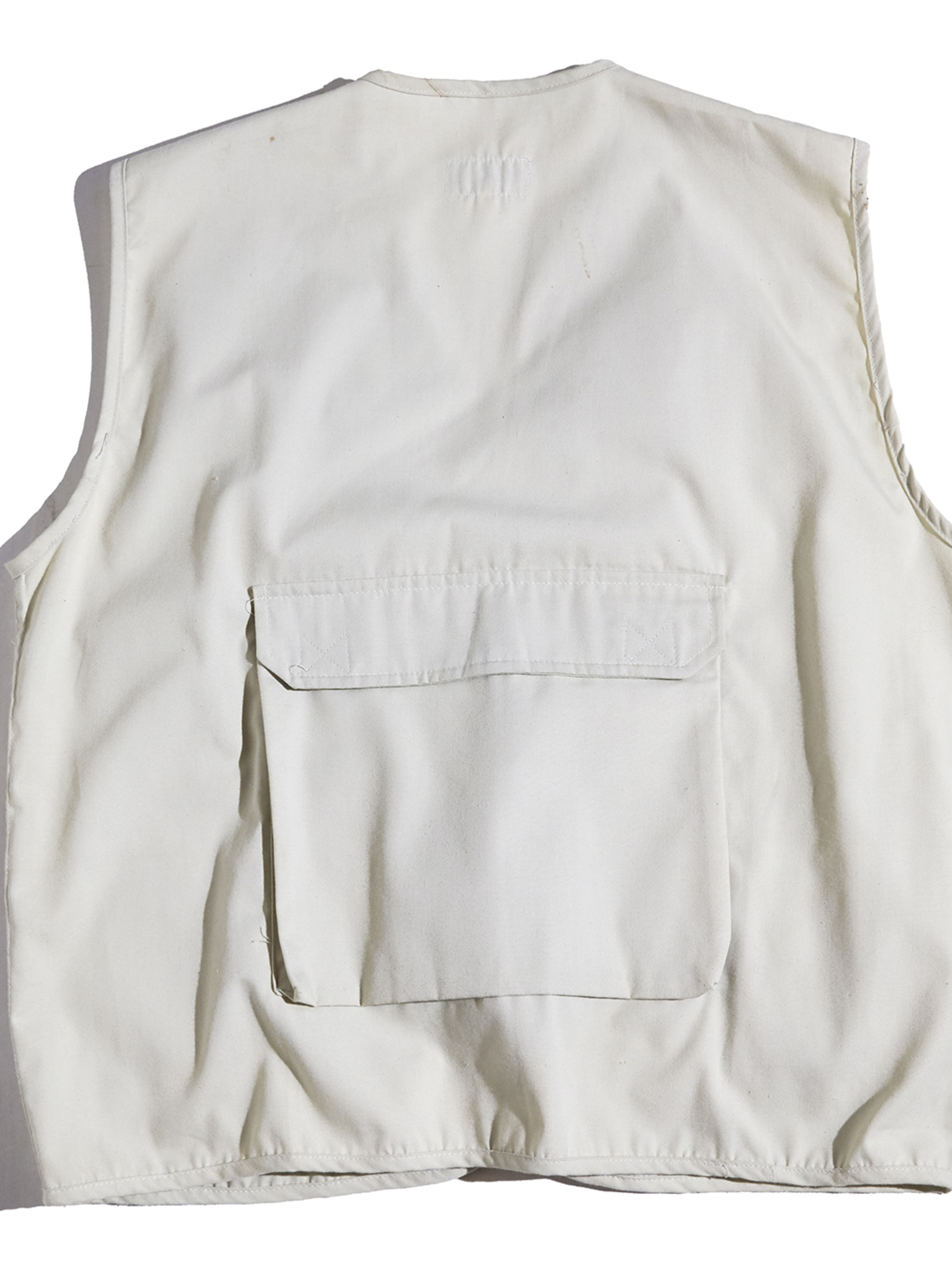 "1990s ""HUGO BOSS"" fishing vest -IVORY-"