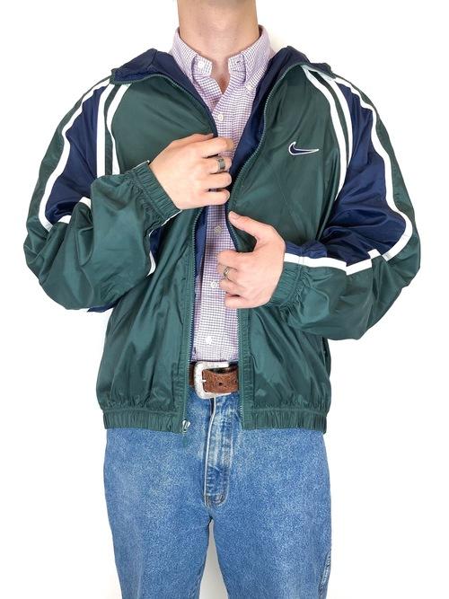 90's NIKE nylon jacket