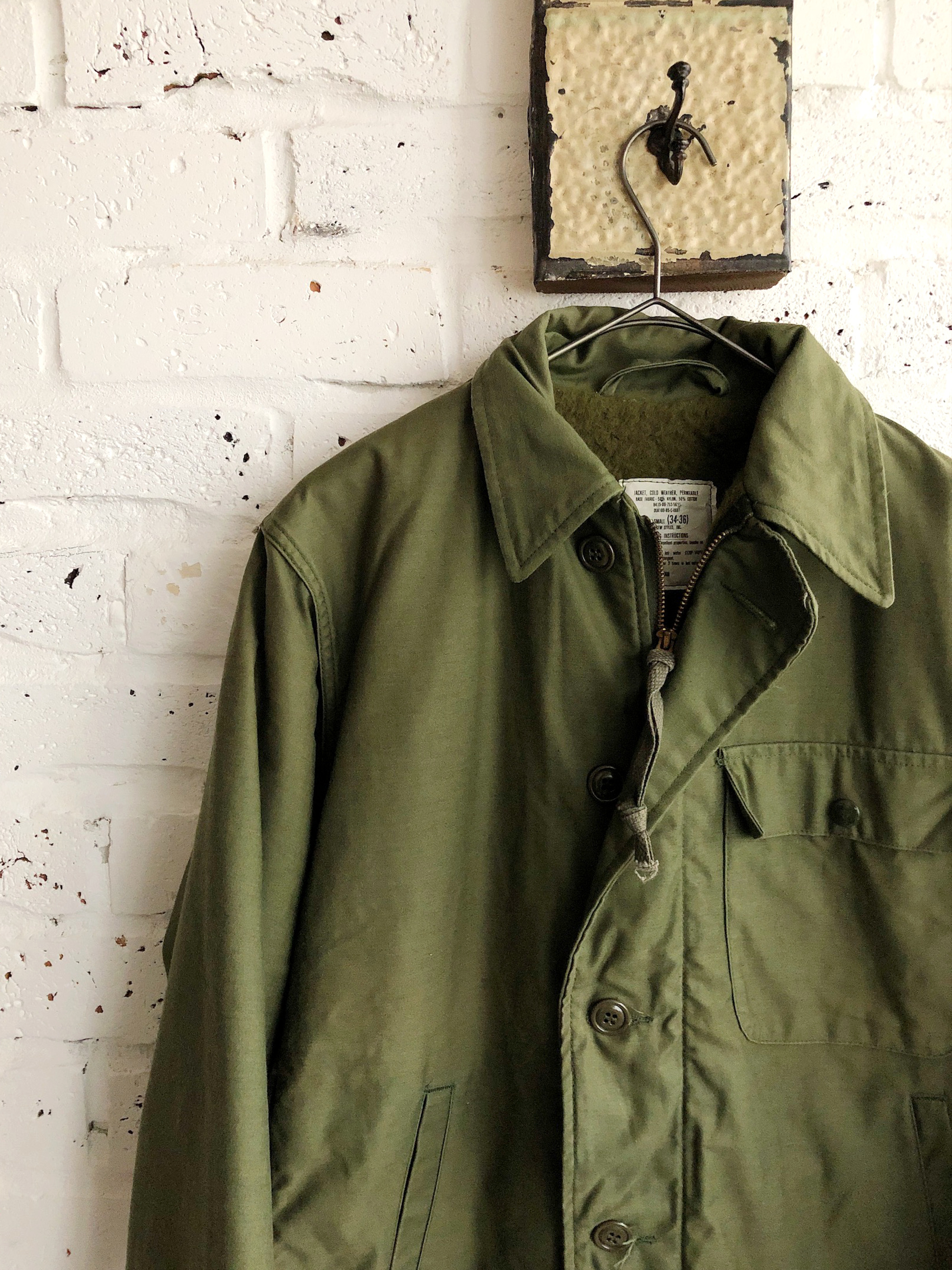 Vintage US NAVY A-2 Military Deck Jacket