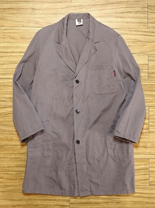 EURO Vtg / Gray cotton atelier coat