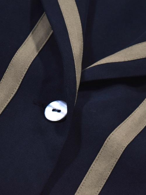 ストライプ シルクジャケット / stripe silk jacket