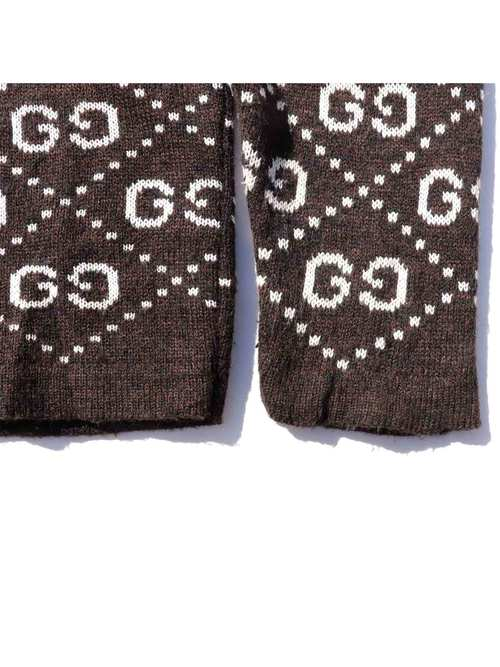 90's BOOTLEG GUCCI GG Monogram Knit [About XL]