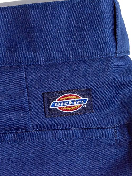 "1990s ""Dickies"" twill work shirt & pants -NAVY-"