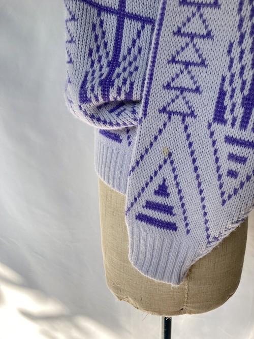 acrylic pattern knit