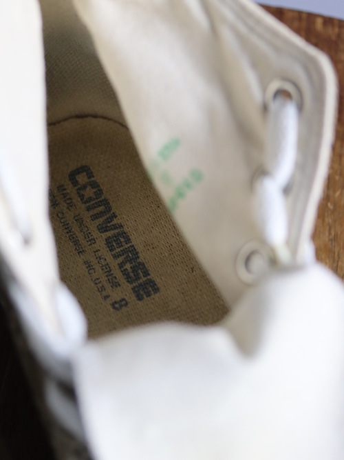 1990's Converse ALL STAR Gobelin Hi / Under License USA / Made in Japan / size 8