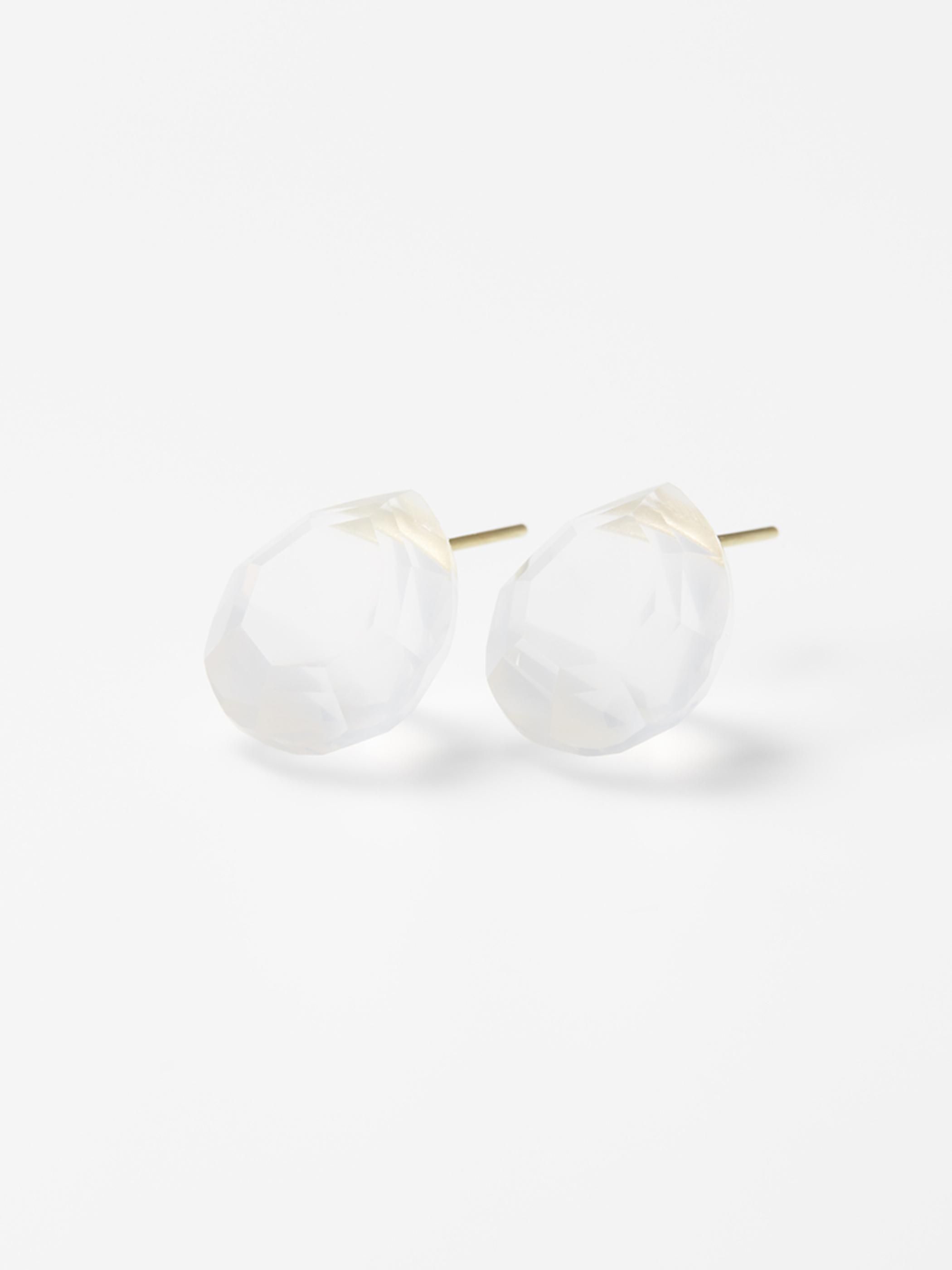 ETSUKO SONOBE earrings/メタモルフォーシスクォーツ