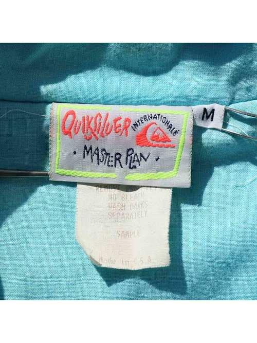 80's QUIKSILVER USA製 パディングジャケット [M]