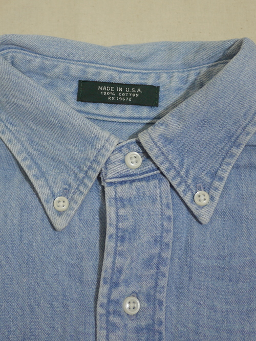 RALPH LAUREN Denim shirt SizeL