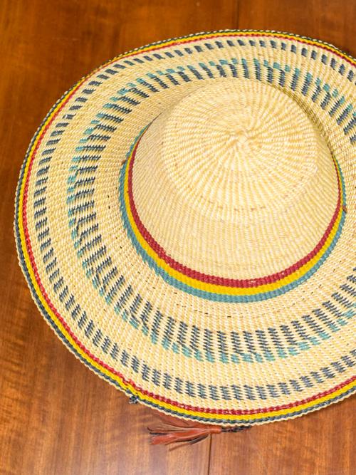 African straw hat / アフリカン ストローハット