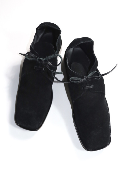 Unknown Vintage Design Suede Short Boots