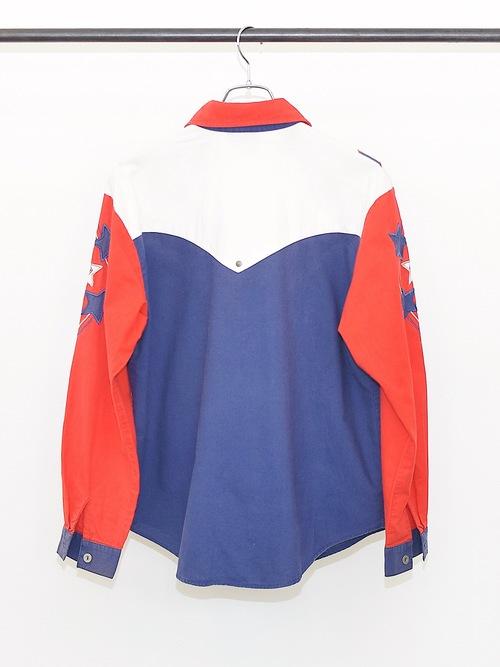 Vintage【1849 AUTHENTIC RANCH WEAR】Fringe Western Shirt