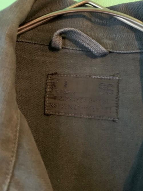 60s Nether Lands ARMY 後染め シャツジャケット