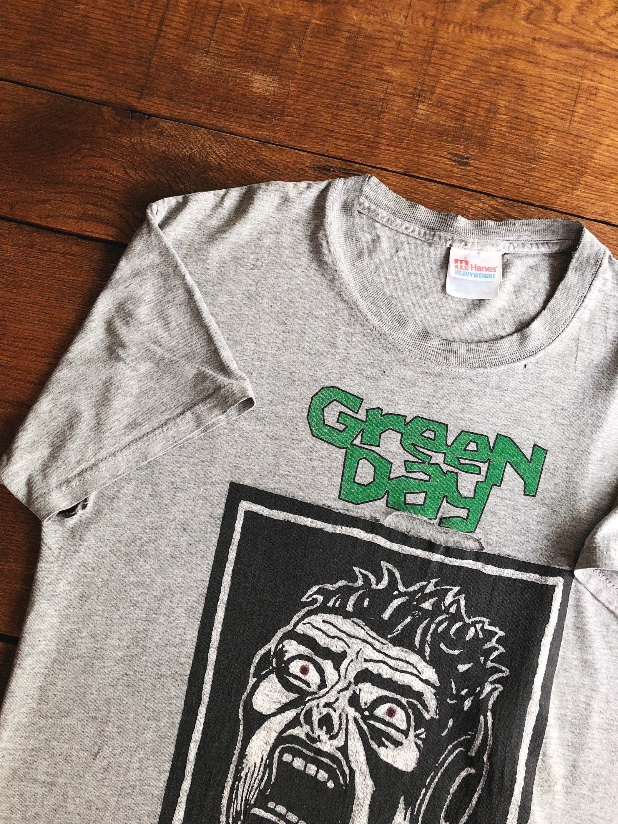 Green Day-Dookie/Basket Case 1994 T-shirt